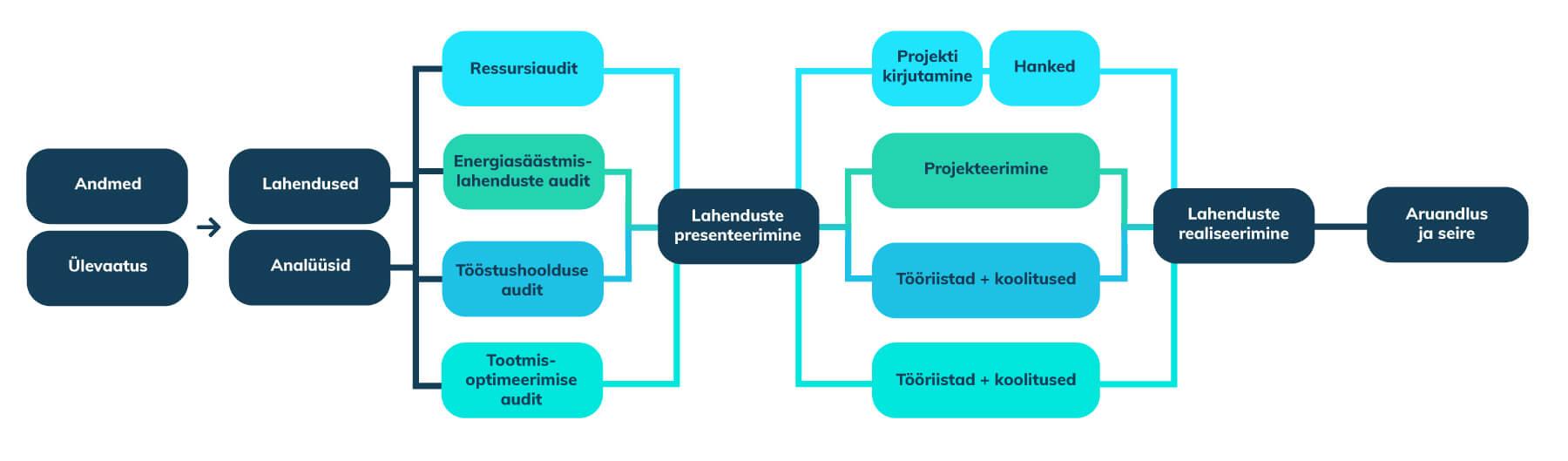 ressusrsiaudit koostamise etapid ressursitõhusus meetmeks